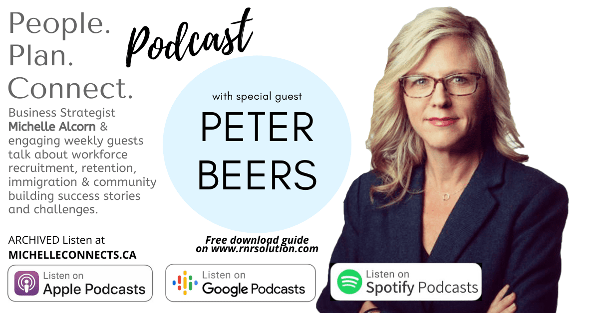 Peter Beers People. Plan. Connect. podcast